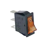 Switch 1-Pole Orange 16A 250V 301011