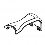 Gaggia Accademia Chromed Plastic Upper Arm for Carafe
